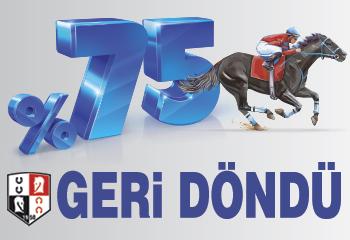 %75 GERİ DÖNDÜ!