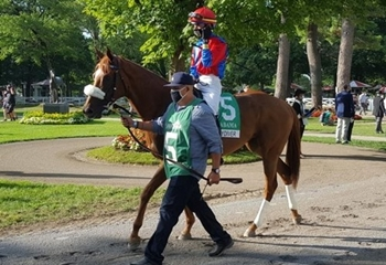 G1 Alabama Stakes Victory from Daredevil Representative Swiss Skydiver