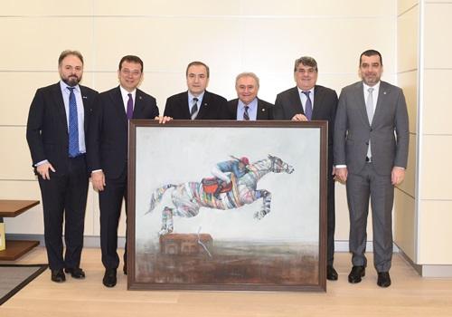 Kulübümüz Yönetim Kurulu, İBB Başkanı Ekrem İmamoğlu'nu ziyaret etti